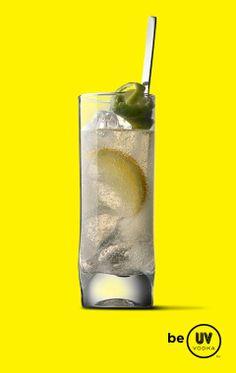 UV Vodka Recipe: Citrus Spritzer 1 part UV Citrus 3 parts lemon-lime soda* Serve over ice in a highball glass. *Substitute diet lemon-lime soda for a low-carb drink! Uv Vodka Recipes, Drink Recipes, Citrus Vodka, Low Carb Drinks, Lime Soda, Highball Glass, Lemon Lime, Eat Right, Yummy Drinks