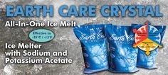 Keep your sidewalks free of ice this winter with Earth Care Ice Melter! This is a fantastic product!!  - Instant Ice Melting Action - Effective to Lower Temperatures - Minimized Environmental Impact  - Reduced Tracking - Consistent Particle Size - Free Flowing - Non-Powdery  Read more or see the PDF at:  http://www.championproducts.com/contentonly.aspx?file=customerpages%2Fwebpromos.htm