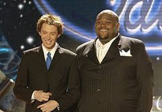 Season 2 (2003):     •Winner:  Ruben Studdard   •Runner-up:  Clay Aiken