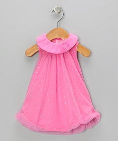 Take a look at this Pink Sparkle Bubble Romper by Baby Essentials on #zulily today!