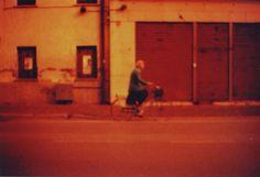 #Old #woman on the #road #vecchia in #strada #bicicletta #bici #bicycle #dem #photo #lomography #lomo #smena #symbol #analog #analogica #pellicola #film