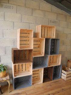 o trouver des caisses en bois et des cagettes etagere deco ou trouver et caisses en bois. Black Bedroom Furniture Sets. Home Design Ideas