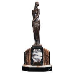 art deco sculpture | Art Deco Collection - Pierre Le Faguays - 1930s French Art Deco ...
