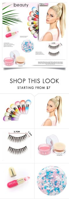 """""""NewChic 32. 28.02.2017"""" by goharkhanoyan ❤ liked on Polyvore featuring beauty, Winky Lux, Nails Inc., Whiteley and newchic"""