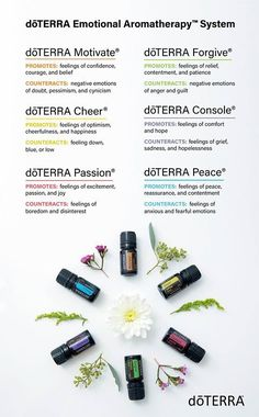 Having trouble deciding which doTERRA Emotional Aromatherapy® oil to use? This list may help.