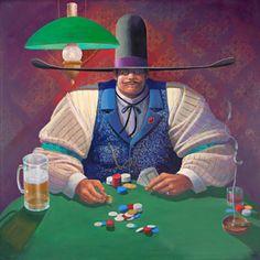 James Darum  The Gambler - Card Player