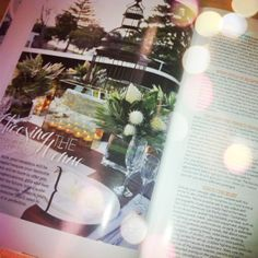 "@Modern Wedding mag! Page 10 in the Clubs NSW supplement ""Choosing the Perfect Venue"" ~ Beautiful views from our Deck Bar Lounge www.clubrosebay.com.au"