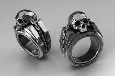 Paul Braddock jewellery concepts.