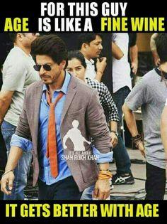 OMFG THIS IS SO TRUE!!! Shah Rukh Khan Quotes, Richest Actors, Kuch Kuch Hota Hai, Best Hero, Sr K, Sara Ali Khan, Varun Dhawan, King Of Hearts, Indian Movies