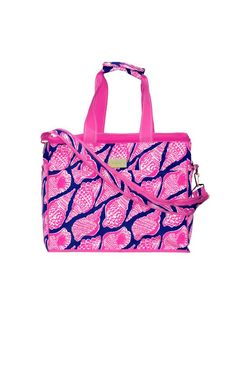 Insulated Cooler Bag - Lilly Pulitzer Bright Navy Cute As Shell