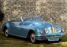 BRISTOL 402 Drophead Coupe by Pinin Farina • 1952 partially based on an old bmw design but british-ified