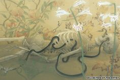 "Fuyuko Matsui Joining the Conversion"" Japanese Art Modern, Japanese Artists, Art And Illustration, Illustrations, Muse Kunst, Art Chinois, Japan Painting, Wood Images, Muse Art"
