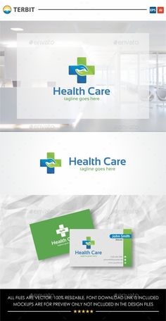 Health Care Logo — Vector EPS #treatment #therapy • Available here → https://graphicriver.net/item/health-care-logo/12606484?ref=pxcr