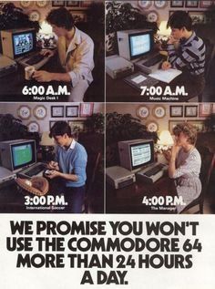 Commodore 64 Advertising!