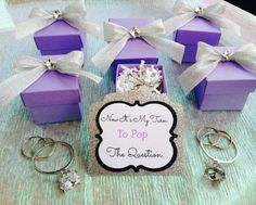 Cute way to pop the question to your bridesmaids: fill a decorated ...