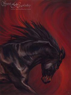 Spirit of Horse Art   Equine Art   Navarre