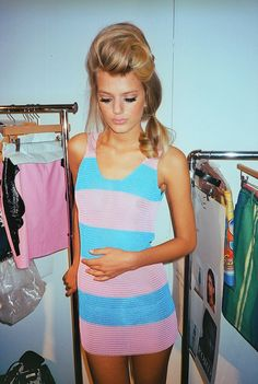love pink and blue together