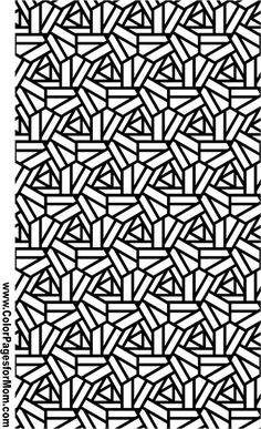 Geometric Coloring Page 94                                                                                                                                                                                 More