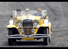 The Great Gatsby 2012 | The Yellow Car on set