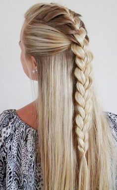 Mohawk braid.