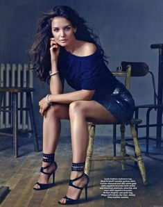 Katie Holmes ... she's so much prettier without Tom Cruise