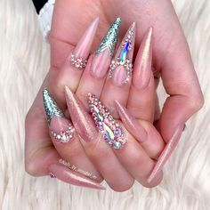 Glamorous Stiletto Nail Designs Youll Adore ★ See more: https://naildesignsjournal.com/stiletto-nail-designs-you-adore/ #nails