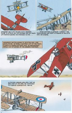 In The Red Baron, due out in a few short weeks, graphic artist and author Wayne Vansant illustrates the incredible story of Manfred von Richthofen, whose unparalleled piloting prowess as a member of the Imperial German Army Air Service made him a World War I celebrity both in the air and on the ground.