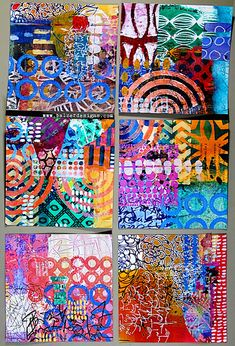 Art + Life by Julie Fei-Fan Balzer - tutorials, stories, beautiful things, projects, and fun! Bullet Journal Art, Art Journal Pages, Art Journaling, Kunstjournal Inspiration, Art Journal Inspiration, Textiles Sketchbook, 8th Grade Art, Colorful Abstract Art, Happy Art