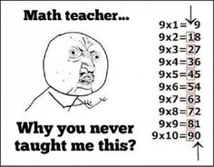 Times Table Trick - 9