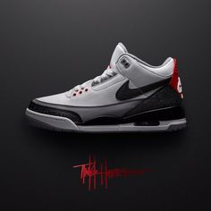 22012e6714d Nike Air Jordan 3 Tinker Hatfield UK 7.5 US8.5 RARE SOLD OUT BNIB