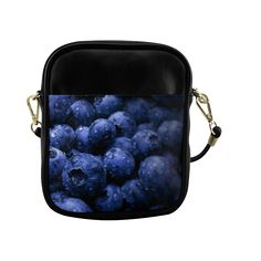 Blueberries Sling Bag (Model 1627)