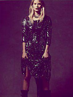 Fp X Magic Sequin Dress