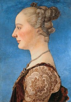 Image: Antonio Pollaiolo - Portrait of a Lady