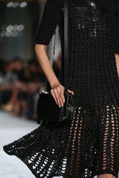 Proenza Schouler SS15 ♪ ♪... #inspiration #diy #crochet #knit GB http://www.pinterest.com/gigibrazil/boards/