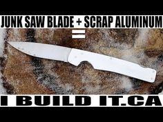 Make This Folding Knife With Basic Tools - YouTube