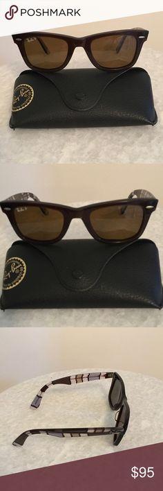 67f89d51f1f Ray-Ban Polarized Sunglasses Ray-Ban Polarized Wayfarer Sunglasses For  Women. Same Shape