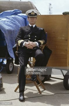 Irish actor Pierce Brosnan as 007 in his naval uniform in the James Bond film 'Tomorrow Never Dies' 1997