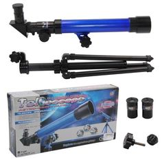 Powerful blue #astronomical telescope with tripod #stargazing #educational kids t,  View more on the LINK: http://www.zeppy.io/product/gb/2/401090439508/