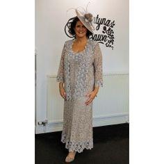 Ann Balon Simona Cappuccino  Dress  and Jacket
