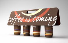 Mobi Cafe by brantt__ , via Behance. Another way to carry coffee. Love it.