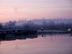 Misty morning @ Calcutt Marina www.calcuttboats.com