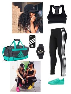 """""""Addidas"""" by minnie-mouse12 on Polyvore featuring adidas and adidas Originals"""