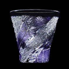 青海波 ◆ ロックグラス|江戸切子 但野硝子加工所 Glass Design, Design Art, Glass Artwork, Crystal Vase, Modern Traditional, Hobbies And Crafts, Cut Glass, Colored Glass, Sculpture Art