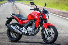 Canadauence TV: Nova Honda CB 250 Twister substitui a CB 300R
