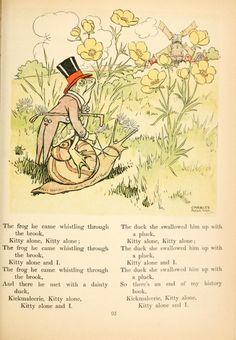 L. Edna Walter. Mother Goose's nursery rhymes.  London, 1919.