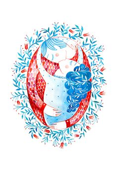 An illustration I made for two dear friends of mine Andreea and Boudewijn, a sweet and beautiful couple that got married this year. Kisses, Beautiful Couple, Love, Dear Friend, Happily Ever After, Got Married, Rooster, Behance, Illustration