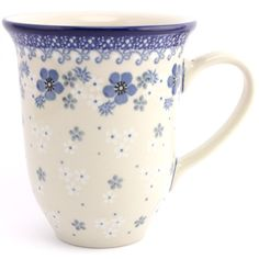 $24.49 Large Mug 17 oz (0.48 L) Night Dream Slavica Polish Pottery slavicapottery.com