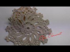 Круглый мотив крючком для топа.Round crochet motif - YouTube Freeform Crochet, Filet Crochet, Irish Crochet, Crochet Motif, Crochet Patterns, Granny Square Crochet Pattern, Crochet Diagram, Crochet Videos, Diamond Heart