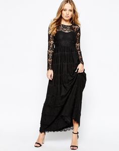 Y.A.S+Mai+Maxi+Dress+in+Lace