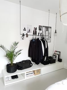 Best Scandinavian Home Design Ideas. 32 Insanely Cute Interior Design To Keep Now – Cosy Interior. Best Scandinavian Home Design Ideas. Minimalist Bedroom, Minimalist Home, Minimalist Apartment, Home Bedroom, Bedroom Decor, Bedroom Ideas, Ikea Bedroom, Bedroom Wardrobe, Master Bedroom